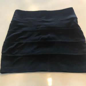 Black top shop skirt